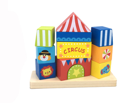 CIRCUS BLOCK TOWER-Lilypond Kids