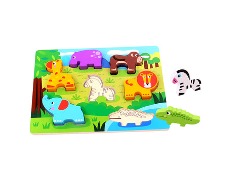 Chunky Puzzle Animal-Lilypond Kids