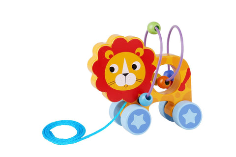 Beads Pull Along - Lion-Lilypond Kids