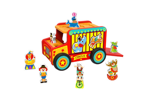 Circus Safari Jeep-Lilypond Kids