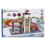 Blue Bird Wooden Toy Service Station-Lilypond Kids