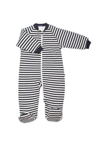 Baby Buggy Bag 1.0 Tog Navy Stripe-Lilypond Kids