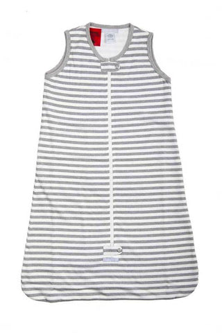 Baby Sleeping Bag 0.5 tog Grey Stripe-Lilypond Kids