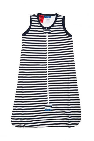 Baby Sleeping Bag 0.5 tog Navy Stripe-Lilypond Kids