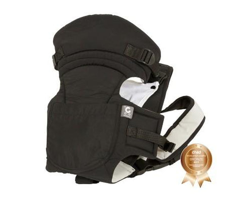 Childcare Baby Carrier - Black-Lilypond Kids