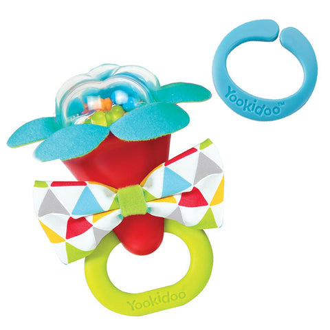 Yookidoo My First Rattle - Red-Lilypond Kids