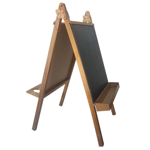 Five In One Painting Easel - Hardwood-Lilypond Kids