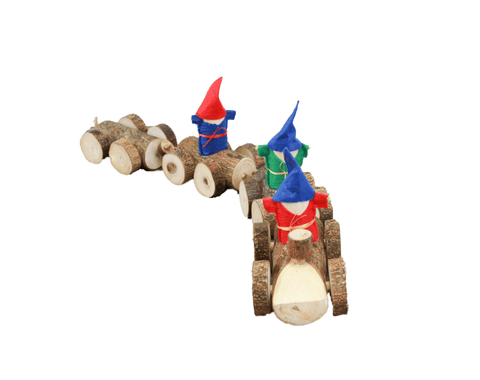 Gnome Log Train-Lilypond Kids