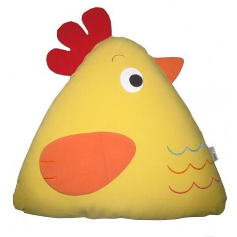 Chick Cuddling Cushion Yellow-Lilypond Kids