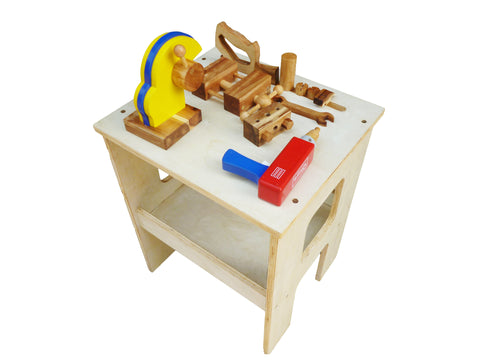 Wooden Work Bench-Lilypond Kids