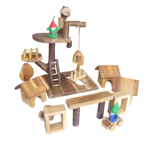 Gnome Village Play Set-Lilypond Kids