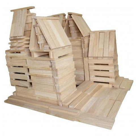 Natural Planks 200 Pcs-Lilypond Kids