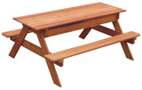 Sand & Water Wooden Picnic Table-Lilypond Kids