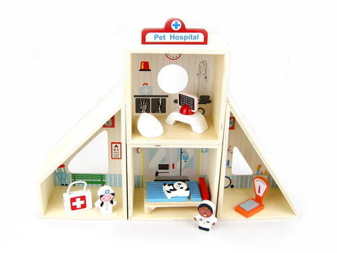 Pet Hospital Playset-Lilypond Kids