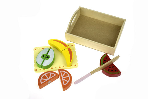 Wooden Food Tray - Fruit-Lilypond Kids