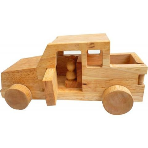 Wooden Safari Jeep-Lilypond Kids