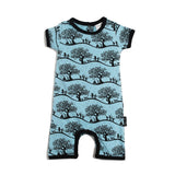 Enchanted Fields Short Romper-Lilypond Kids