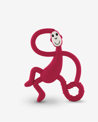 Matchstick Monkey Dancing Monkey Teether - Rubin Red-Lilypond Kids