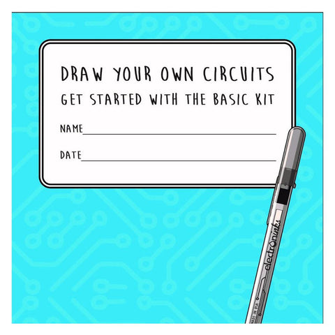 Circuit Scribe Basic Educational Booklet-Lilypond Kids