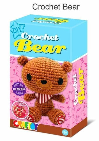 Crochet Kit - Bear-Lilypond Kids