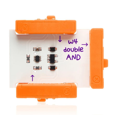 LittleBits Double And-Lilypond Kids