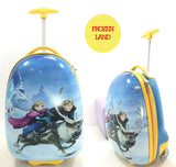 Hard Case Luggage - Frozen Land-Lilypond Kids