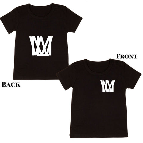 MLW By Design Tee Shirt - MLW 'The Original' Print - Black or White-Lilypond Kids