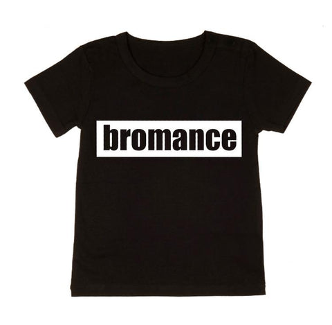 MLW By Design - Bromance Tee - Black or White-Lilypond Kids