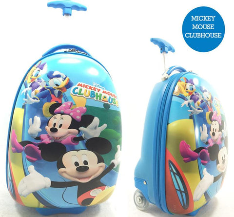 HARD CASE KIDS LUGGAGE - Mickey Mouse Clubhouse-Lilypond Kids