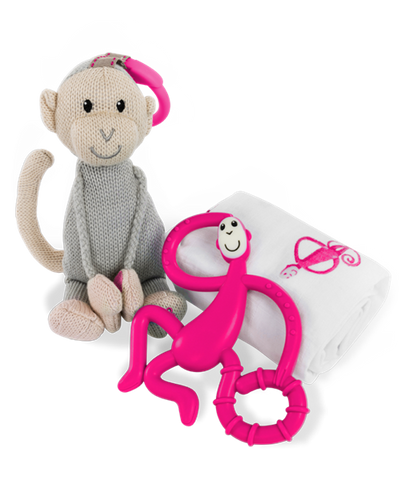 Baby Shower Gift Set - Pink By Matchstick Monkey-Lilypond Kids