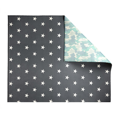 Play with Pieces - Camo/Star Play Mat-Lilypond Kids
