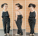 Cotton Summer Style One-piece Jumpsuit-Lilypond Kids