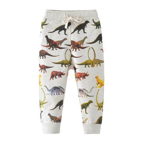 Warm Casual Jogging Pants-Lilypond Kids