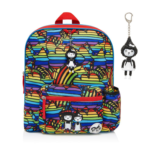 Kid's Backpack - Age 3+ Rainbow Multi-Lilypond Kids