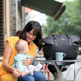 Nappy Bag - Anya Black-Lilypond Kids
