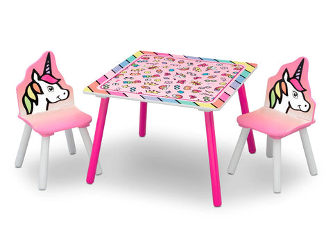 Table and Chairs - Rainbow Dreams-Lilypond Kids