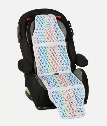 Cool Carats Car Seat Cooler – Colourful Penguins-Lilypond Kids