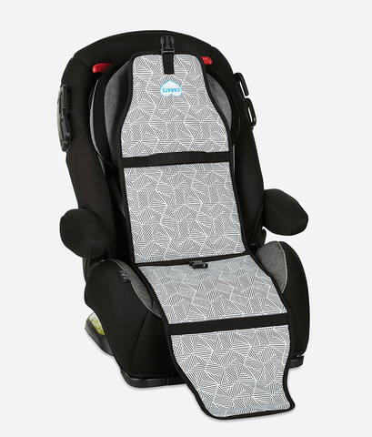Cool Carats Car Seat Cooler – Black Stripes-Lilypond Kids