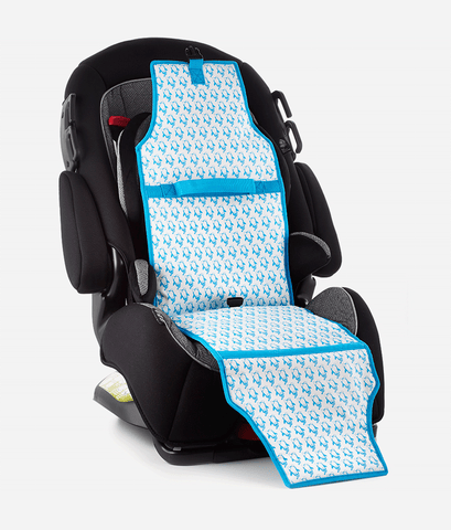 Cool Carats Car Seat Cooler – Blue Penguins-Lilypond Kids