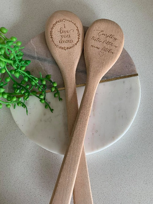 Mother's Day Personalised Wooden Spoon