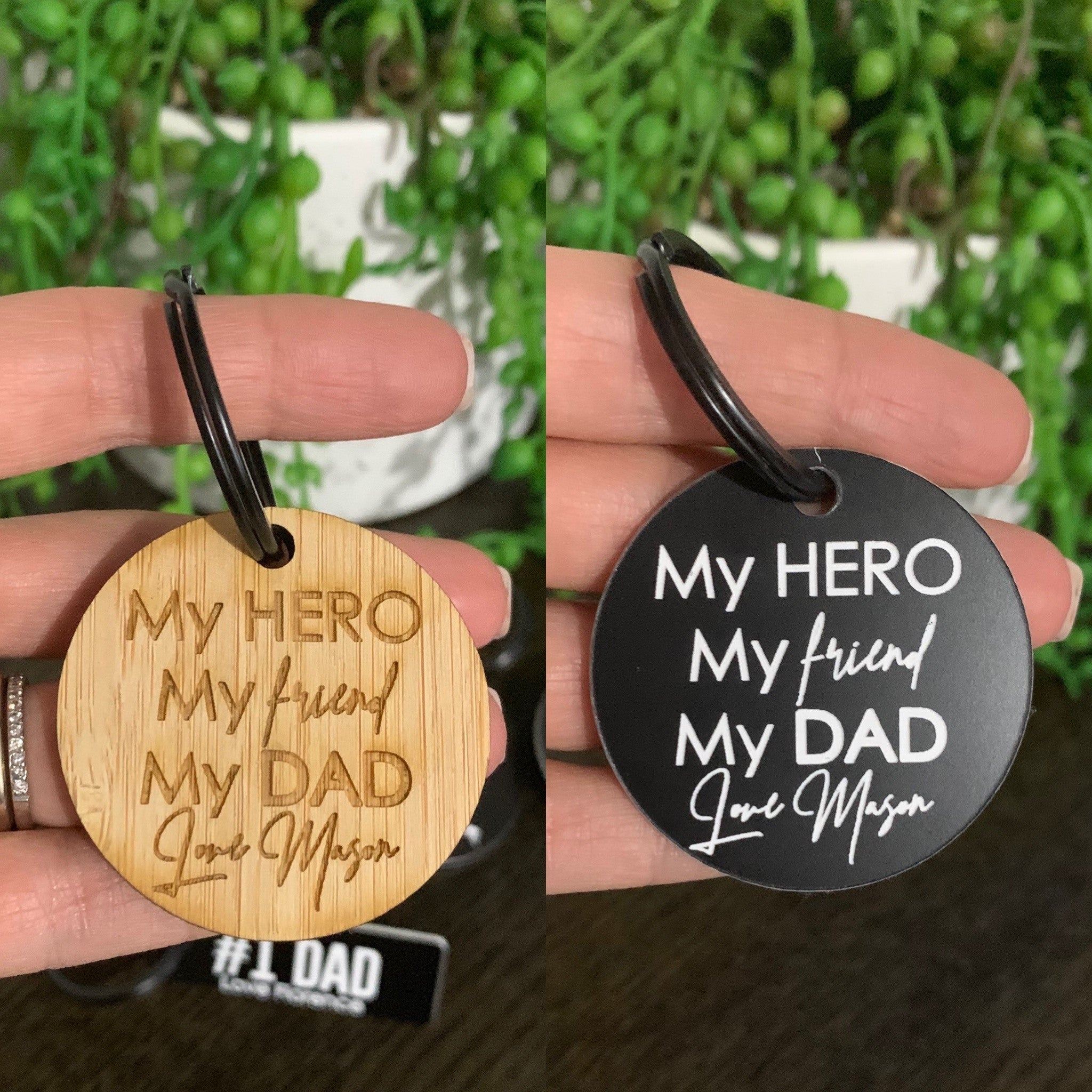 Father's Day Custom KeyTag