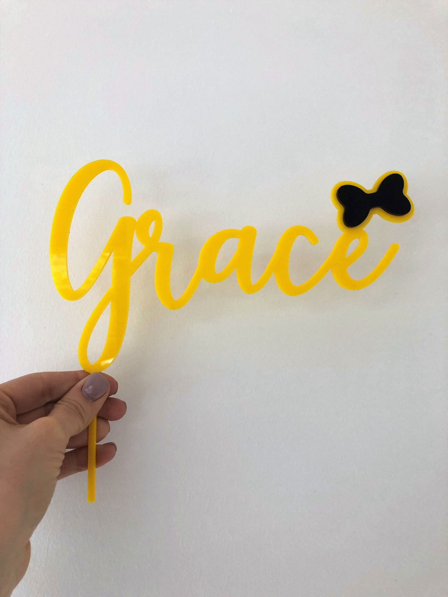Custom Name Wiggles - Emma Theme Topper