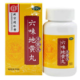 Liu Wei Di Huang Wan (360 Honey Pills) 六味地黄丸水蜜丸 TongRenTang