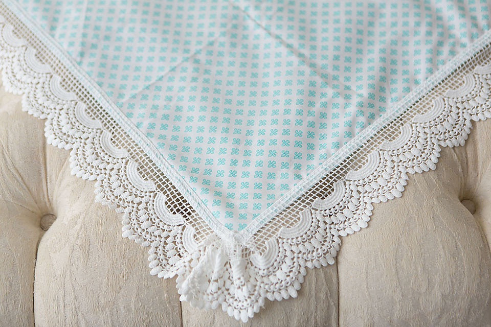 French Lily Lace Swaddle Wrap