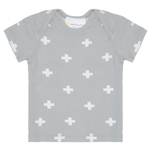 Bamboo short sleeve top - Reverse Cross