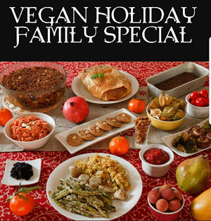 Vegan Holiday Special family package deal