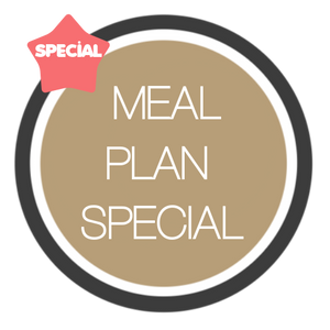 Meal Plan Special