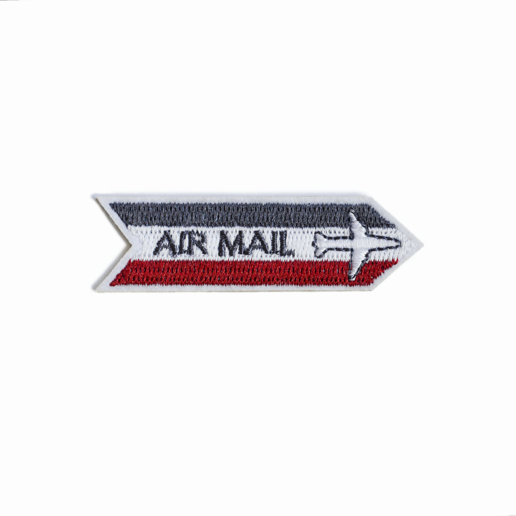 AIR MAIL EMBROIDERED STICKER PATCH