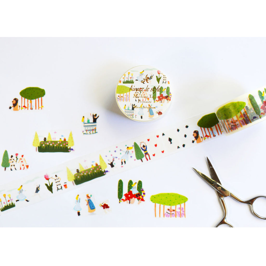 WASHI TAPE- ALICE'S ADVENTURE