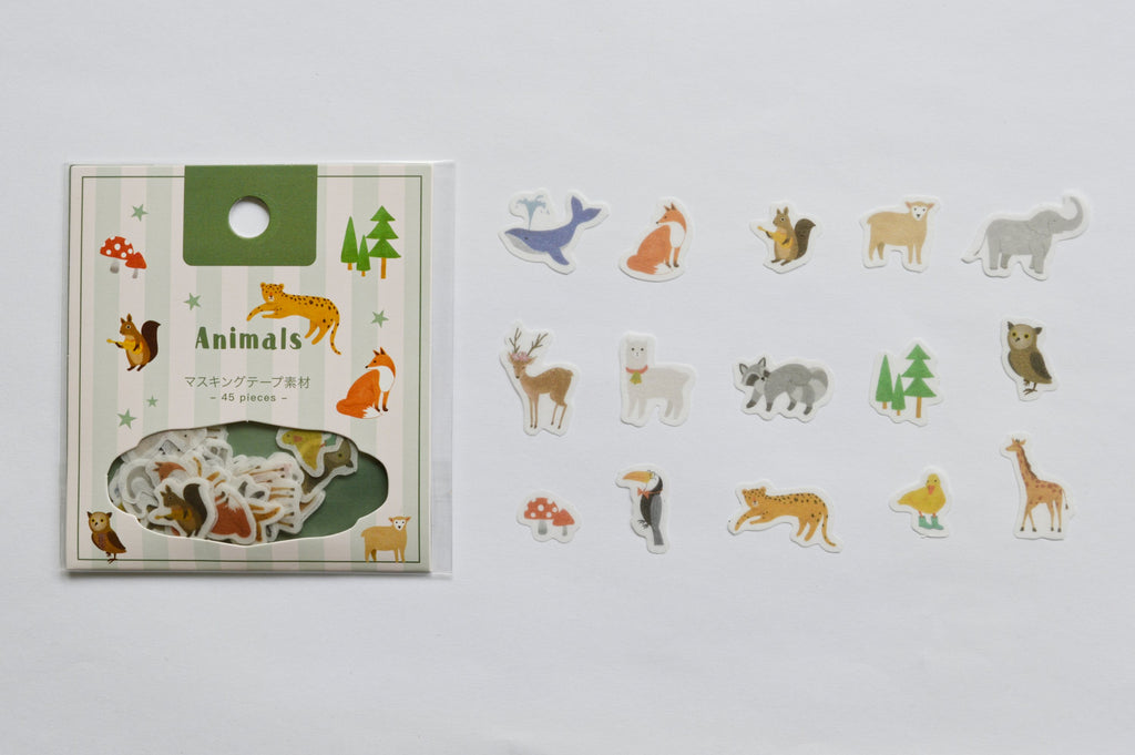 BGM FLAKE SEAL- ANIMALS